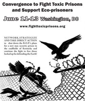 Convergence to Fight Toxic Prisons flier