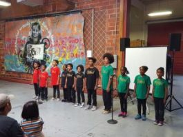 Young Gifted & Black perform and dazzle the audience under the guidance of Laroilyn Davis. – Photo: Greg Thomas
