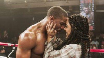 "Michael B. Jordan and Tessa Thompson in ""Creed"""