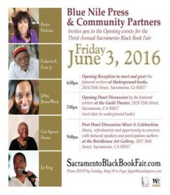 Sac Black Book Fair flier 0616