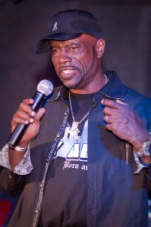Uncle Bobby speaks at a dead prez concert that featured a panel discussion presented by the Justice 4 Oscar Grant Campaign on May 22, 2010. – Photo: Scott Braley