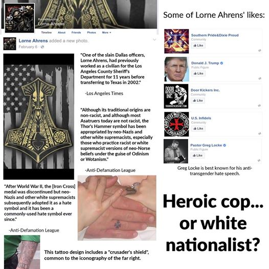 These images were compiled from Lorne Ahrens' Facebook page.