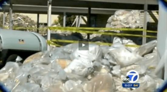 Treasure Island- bags of radioactive dirt