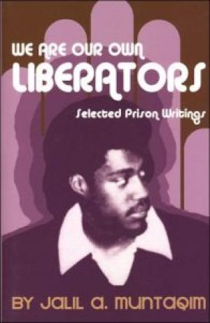 Illustrating the cover of Jalil's book is a photo of Jalil at a Black Panther Party meeting two months before his arrest in 1971.