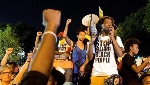 Rally 'Stop killing Black people'