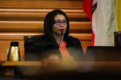 San Francisco Board of Supervisors President London Breed – Photo: Gabrielle Lurie, SF Chronicle