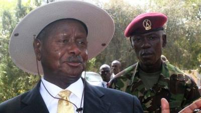 Ugandan President Yoweri Museveni – Photo: AFP