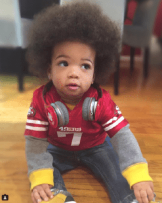"""When you're trying to raise a #woke baby, you dress him as Kaepernick for Halloween,"" Hana Pugh, mother of 14-month-old Ceron Pugh III, called CP3, wrote on Instagram. His dad, an Army captain and Afghanistan War vet, affirms that kneeling for the national anthem does not disrespect the military. ""One can be proud to be Black while simultaneously being patriotic,"" says Hana, adding, ""We admire Kaepernick's courage to utilize his platform to support the Black Lives Matter movement, raise awareness to issues like police brutality and even the way this country treats its veterans."""
