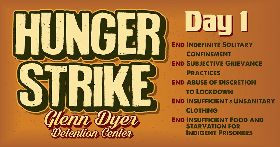 appropriate responses to prisoner hunger strike Organize the 2011 & 2013 hunger strikes co-founder of the prisoner and the prisoner hunger strike solidarity responses to solitary man: i/we.