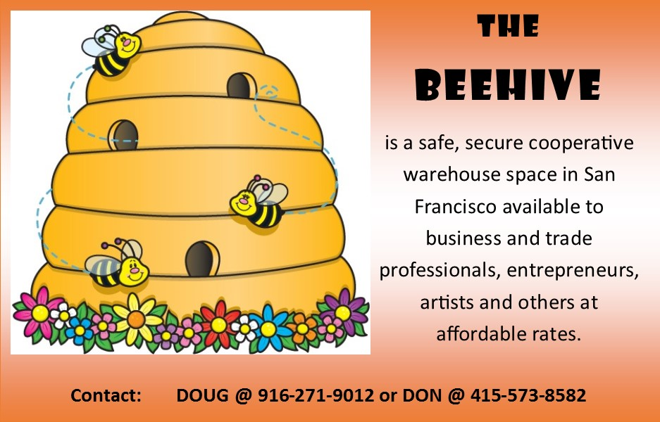 San Francisco Bay View The BEEHIVE Safe affordable