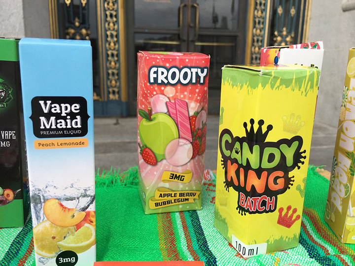Doctors and parents declare candy flavored tobacco 'epidemic' in SF