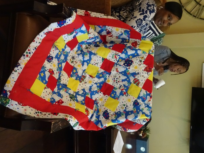 Sis.-Sadie-Williams's-quilt-in-her-solo-art-show-0519-by-Wanda-1, Wanda's Picks for June 2019, Culture Currents