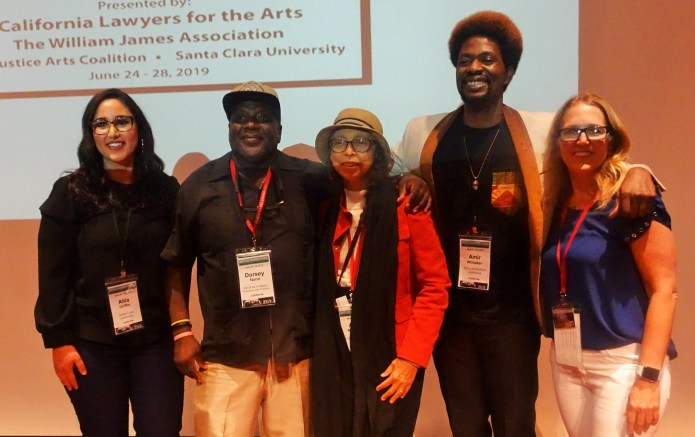 Plenary-panelists-on-justice-reform-Dr.-Allia-Ida-Griffin-Dorsey-Nunn-Alma-Robinson-Amir-Whittaker-Susan-Mason-at-Arts-in-Corrections-conf-0619-by-Wanda, Wanda's Picks for July 2019, Culture Currents