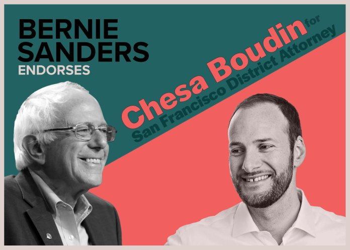 Bernie-Sanders-endorses-Chesa-Boudin-poster, BABJA to host Q&A with San Francisco District Attorney Candidates – Davey D to moderate – Wed., 10/30, Local News & Views