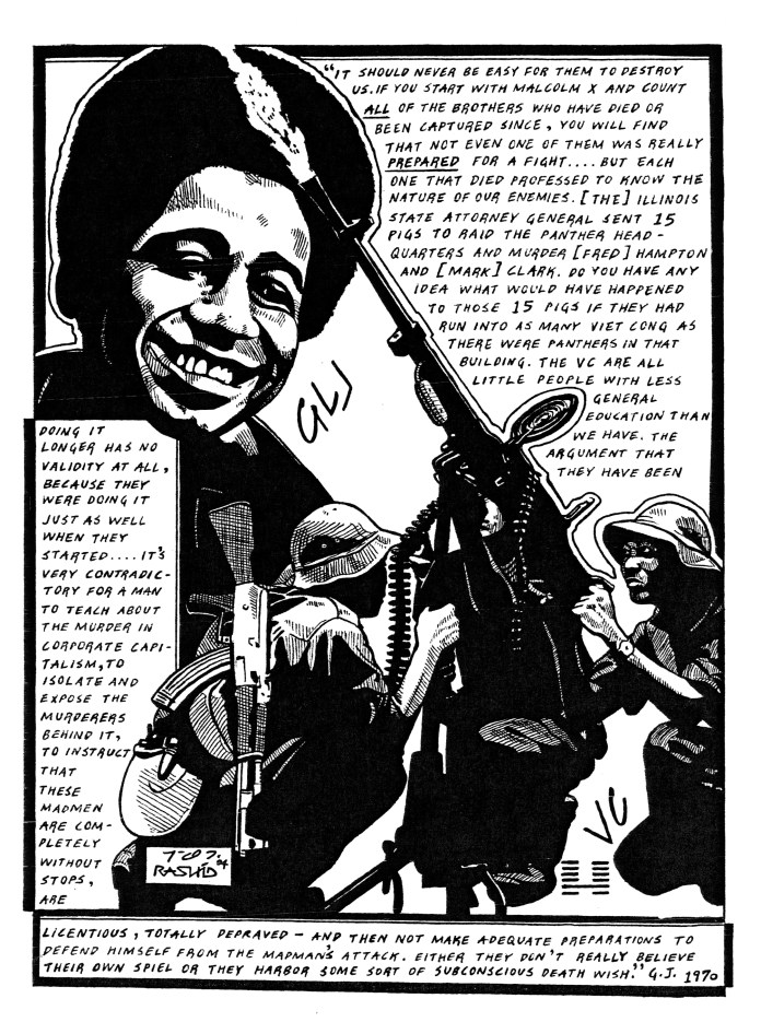 It-should-never-be-easy-for-them-to-destroy-us-art-by-Rashid-2004, On Pan Afrikanism: Interview with Comrade Rashid by JR Valrey of Block Report Radio, Behind Enemy Lines