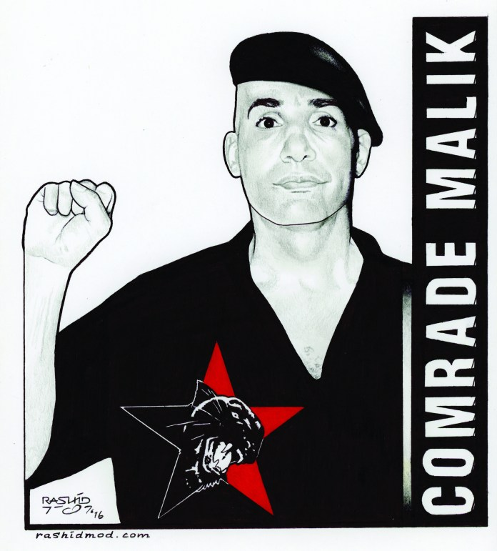 Comrade-Malik-art-by-Rashid-1116, Why I fight so hard for our people, Behind Enemy Lines