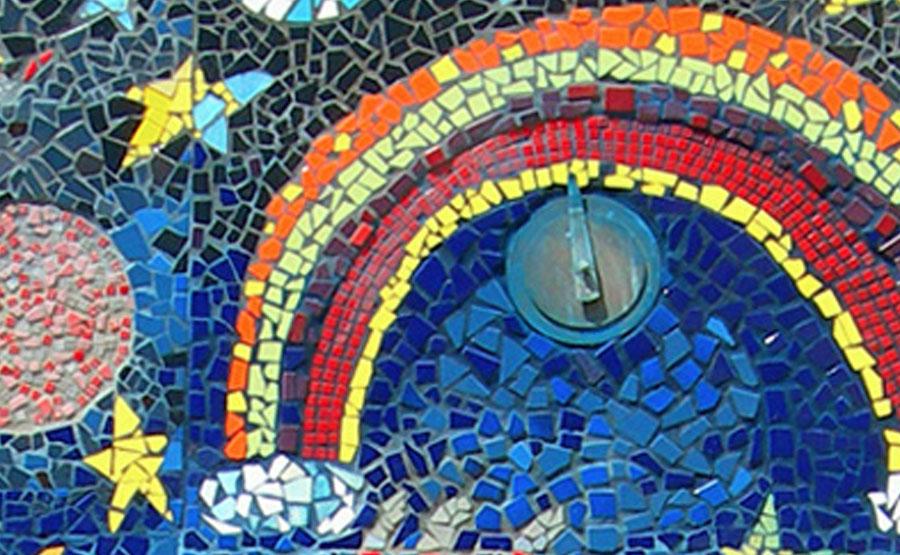 hillcrest elementary school mosaic tile