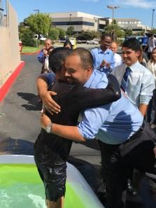 Jimmy after baptism