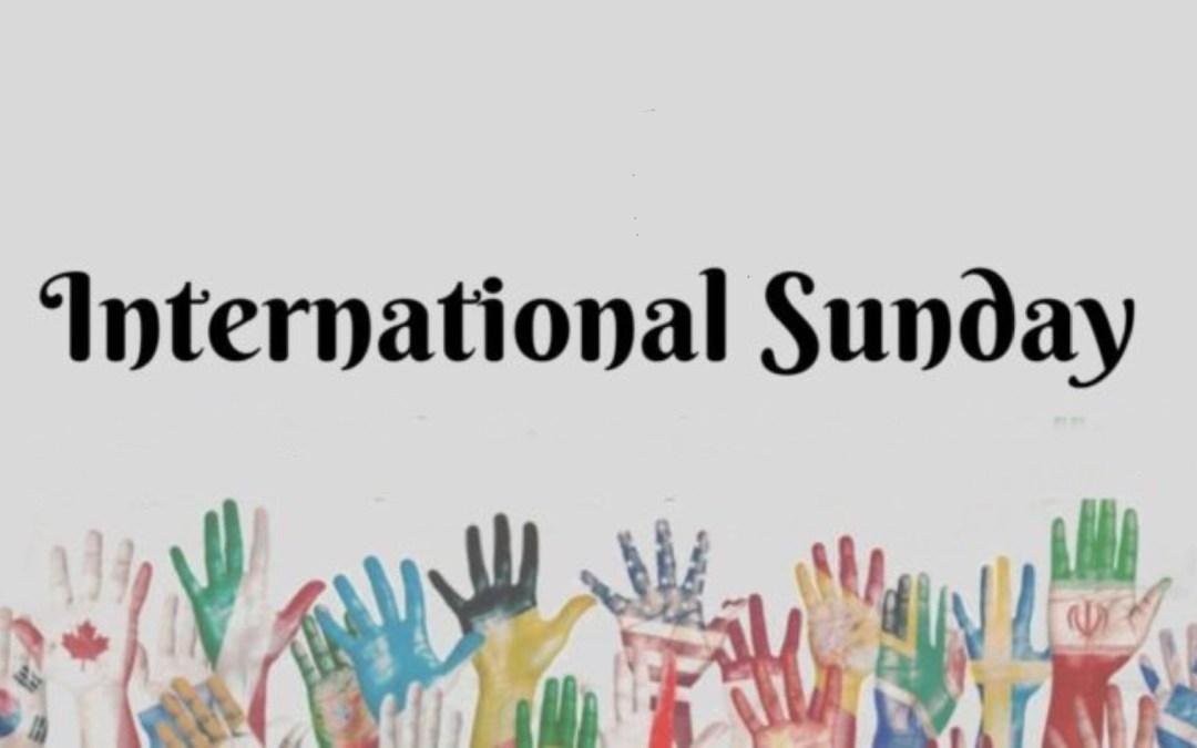 International Sunday on August 27