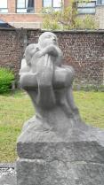 sint-denijs-westrem_kerk_grafbeeld george minne_familie françois-de smet