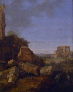 banden_de pisser 2_21a_cornelis van poelenburgh_pastorale parmi les ruines_cornelis