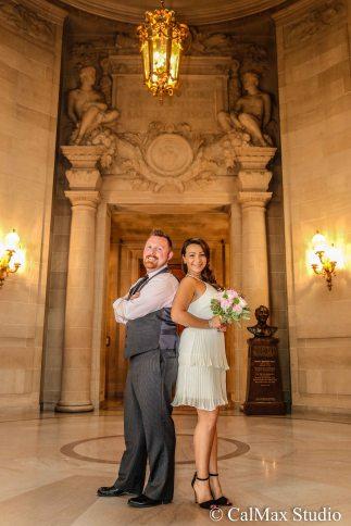 SF City Hall wedding photo (1)