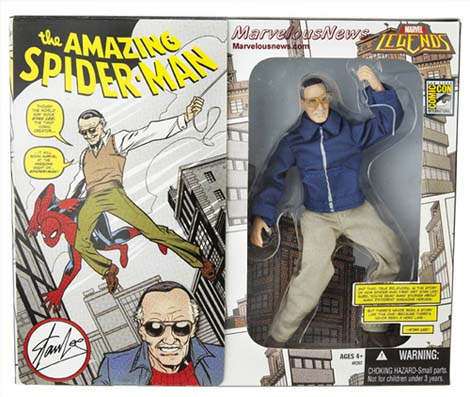 Stan Lee... with great power comes great responsibility.
