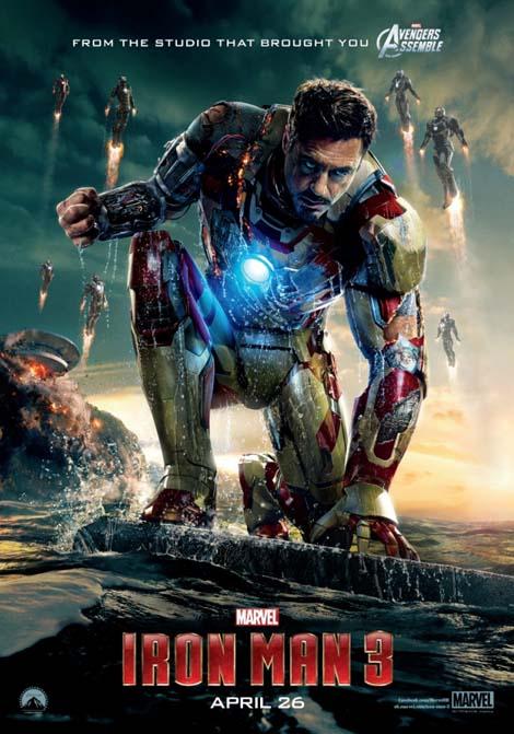 Iron Man 3... seeing double, triple...?