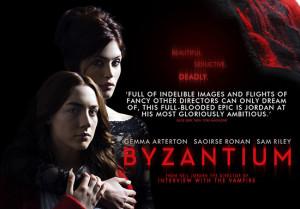 Byzantium... Gemma Arterton with bite.