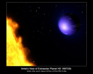 Earth is not alone... there's another blue planet.
