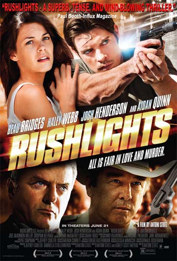 Rushlights a film review by Mark R. Leeper (film review).