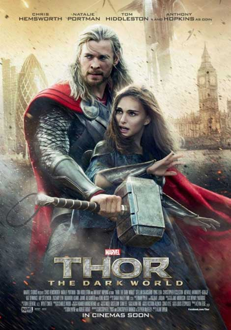 Thor: The Dark World... putting the smack into London.