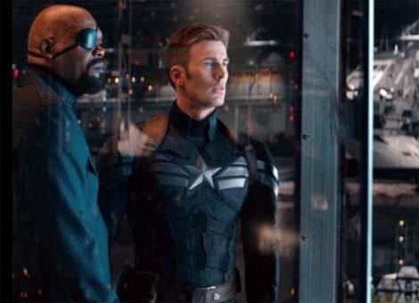 Captain America: The Winter Soldier... teaser trailer.