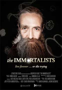 The Immortalists (a film review by Mark R. Leeper) (2014).