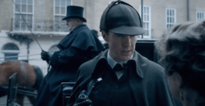 Sherlock, surely? (the great game of show interviews is afoot).