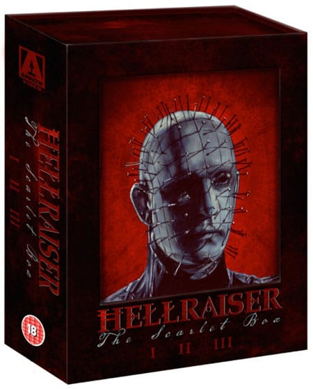 Hellraiser: The Scarlet Box Limited Edition Trilogy (Blu-ray films review).