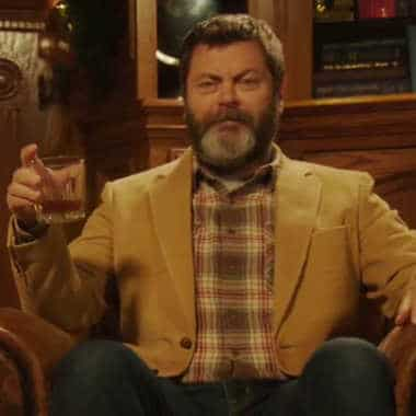 Nick Offerman says it's Suntroy time (for 45 minutes).