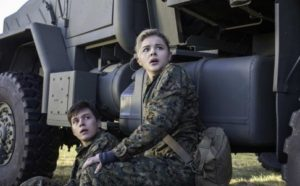 """""""Listen up you invading planetary pests...you're not going to compromise me, my man or the world...got that Jack! Why? Well...because Cassie Sullivan from THE 5TH WAVE says so!"""""""