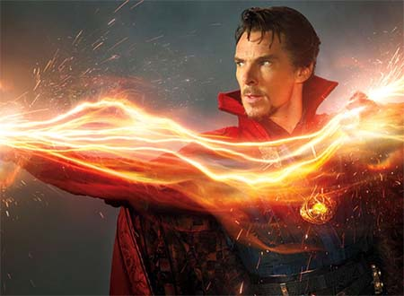 Doctor Strange gets magical rather than surgical.