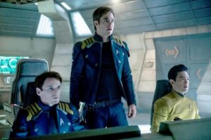 All hands on deck as the USS Enterprise sets its rickety course in Justin Lin's entertaining reboot STAR TREK BEYOND