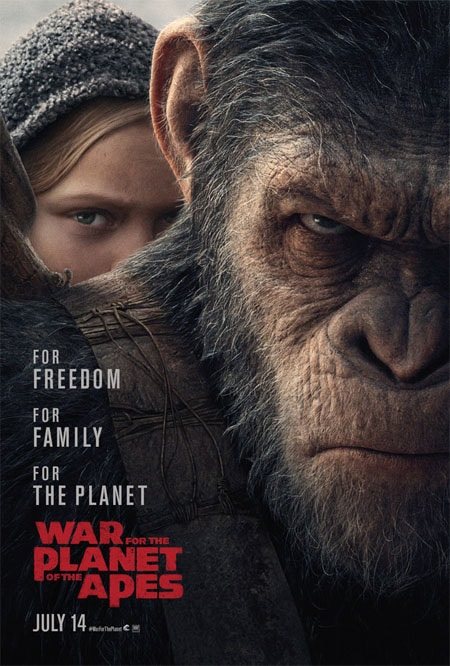 War For The Planet Of The Apes (brand new trailer).