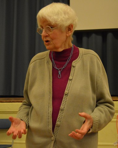 Denise Scott Brown talks about the Venturi Renovation at St. Francis de Sales Church