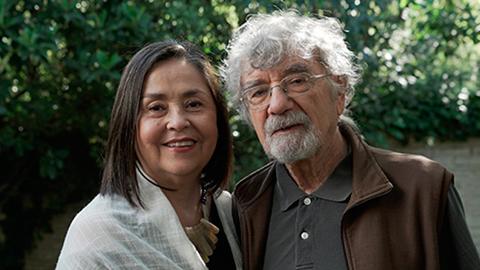 Ximena Dávila y Humberto Maturana