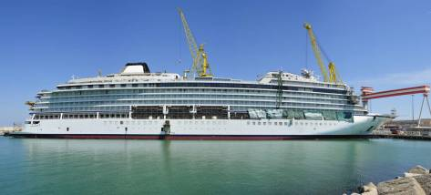 A cruise ship is launched …<br /> <strong>SFILis involved</strong>