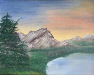 Murky Lake During the Orange Days