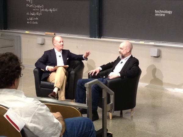 Jason Pontin și Neal Stephenson