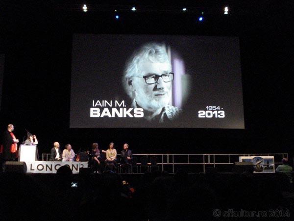 Worldcon 2014 - Ceremonie deschidere - Iain M. Banks