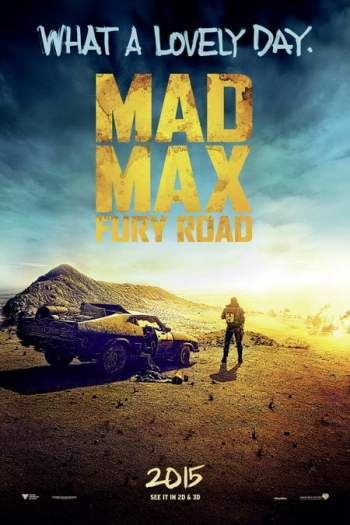 Mad Max, Fury Road poster