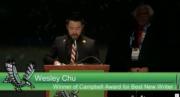 Wesley Chu - Hugo 2015