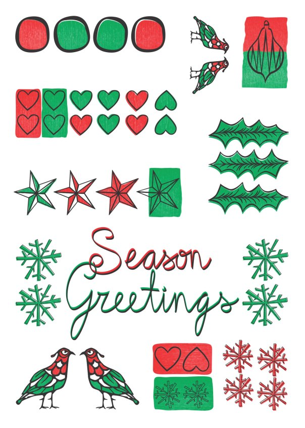 2012 greetings. Have a Happy Holidays!
